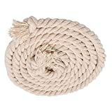 SAIFPRO Tug of War Cotton Rope (19 mm Thickness/10 m x 19 mm)