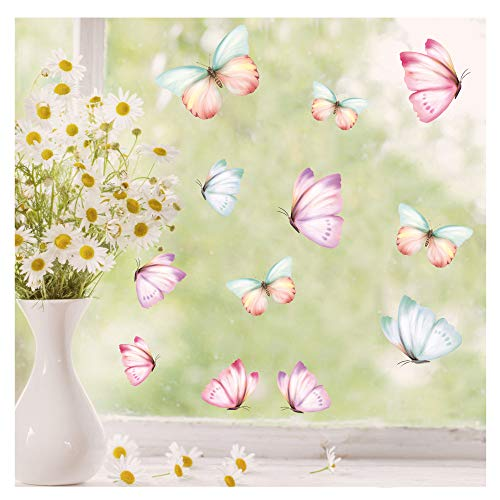 Wandtattoo Loft Fensterbild Frühling Bild