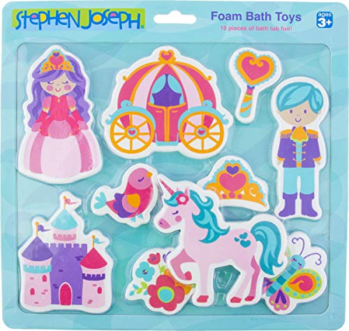 Stephen Joseph Foam Bath Toy, Princess