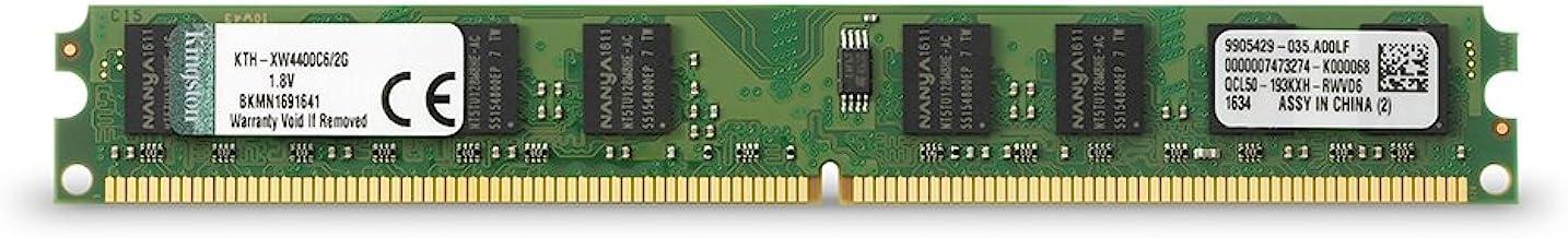 Kingston KTH-XW4400C6/2G - Memoria RAM de 2 GB, 800 MHz, CL6