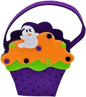 TOYANDONA Halloween Pumpkin Candy Bag Candy Gift Bag with Handle