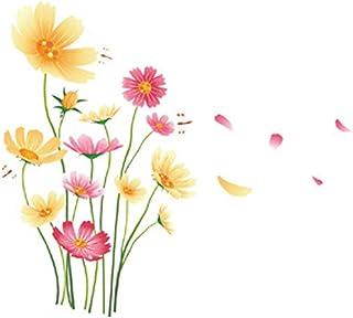 Chrysanthemen-Schmetterlings-Libellen-Garten Blumen Wandaufk