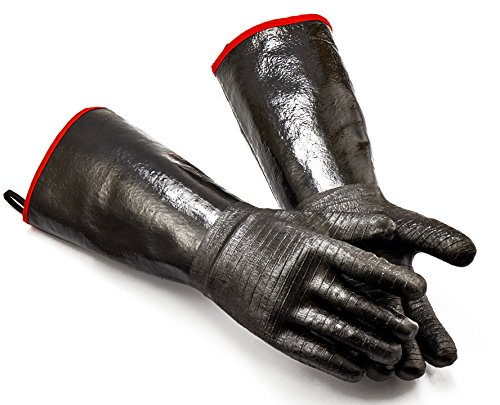 Heat Resistant-Smoker, Grill, Cooking Barbecue Gloves