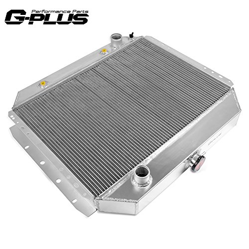 Compatible For Ford Bronco 1978-1979 / For Ford F100 F150 F350 F-Series 1968-1979 Trucks Aluminum Performance Cooling Radiator Stop Leak CC284