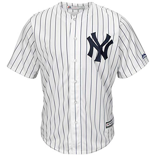 Majestic Athletic Aaron Judge New York Yankees #99 Mens Baseball Player Jersey - White Size XL