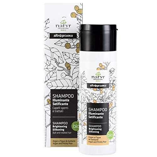 test Natil Organic Care Shampoo mit 200 ml Arganöl und Feigenkaktus – Shine Care Thin… Deutschland