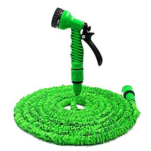 Tuyaux de jardin, 5 niveaux Cheeroyal Tuyaux d'eau extensible Pipe Citoc Flexible Léger Retractable Sans Kink Tuyaux avec 7 Set Spray Gun pour jardinage Véhicule récréatif Piscine (200FT)