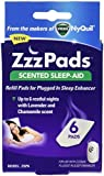 ZzzPads Scented Sleep-Aid Refill Pads for ZzzQuill Plugged in Sleep Enhancer, 6 Pads