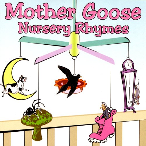 Mother Goose Nursery Rhymes audiobook cover art