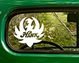 2 Hank Williams Decal Country Band Stickers White Die Cut for Window Car Jeep 4x4 Truck Laptop Bumper Rv