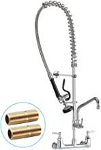 JZBRAIN 8 Inch Center Commercial Faucet with Sprayer 42