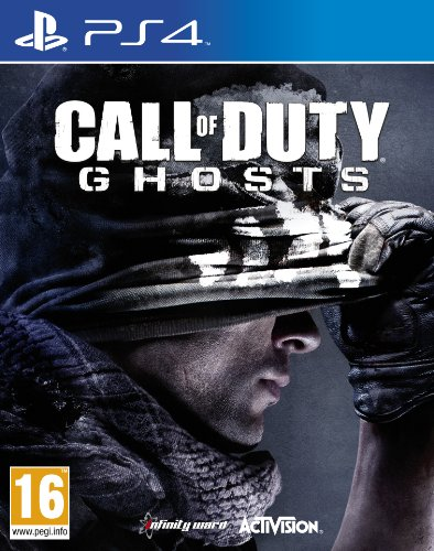 NEW & SEALED! Call of Duty Ghosts Sony Playstation 4 PS4 Game UK