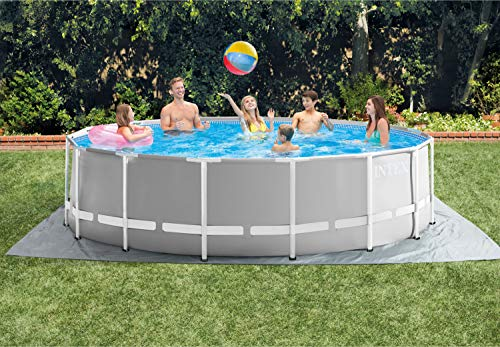 "Intex Round Prism Frame Pool Set | 15ft x 48"" | 26725EH model"