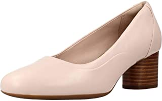 Clarks Women Un Cosmo Step Leather Pumps