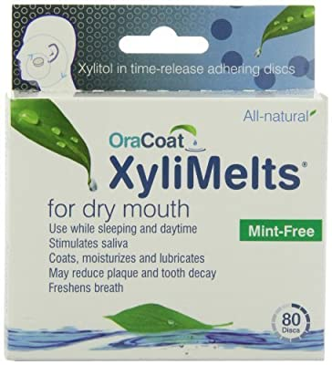 Oracoat XyliMelts for Dry Mouth, 80-Count Box