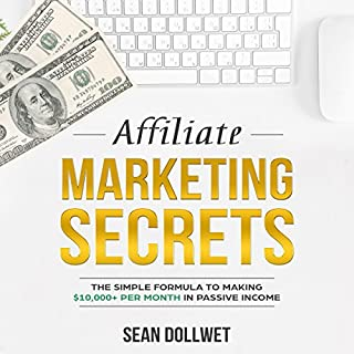 Affiliate Marketing Secrets  audiobook cover art