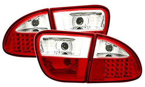 AD Tuning GmbH & Co. KG Kit de Feux arrière LED en Rouge Blanc