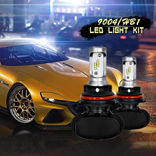Lámpara 6000K / 2000LM, 9-36V / 18W, 2 PCS 9004 IP65 Impermeable Blanco Débilo 12 CSP LED CARIR DE Cara DE Care