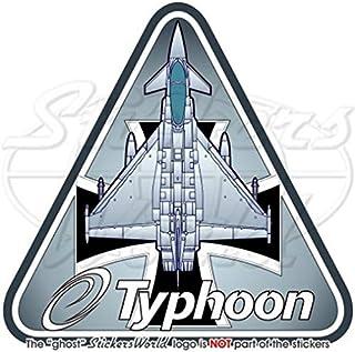 "Eurofighter EF2000 TYPHOON German Air Force LUFTWAFFE Germany 3,7"" (95mm) Vinyl Sticker, Decal"