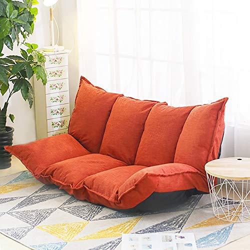 Lazy Slaapbank Slaapkamerkussen Opvouwbaar Tweepersoonsbed Living Vrije tijd draagbaar Sofa 160 cm 145x105x17cm Ik