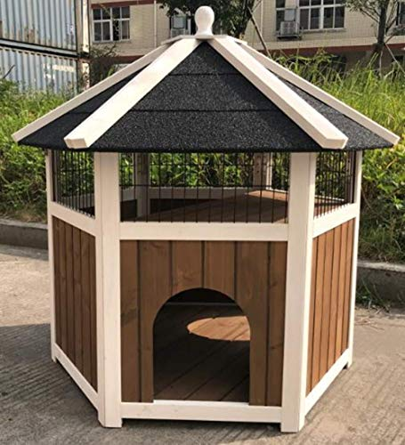 Weatherproof Outdoor Cat House for Multiple Cats