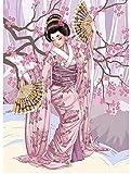 Desconocido 1000 pcs Puzzle Mini Puzzles de Geisha Japonesa Dura Juegos Infantiles Juguetes Puzzle Game para