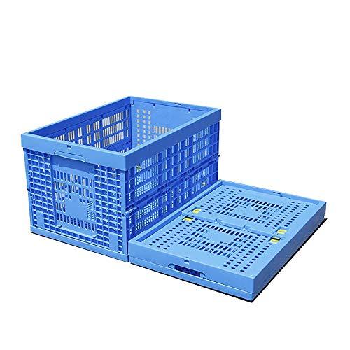 Caja Plegable De Plástico De Almacenamiento,Heavy Duty Plegable Y Apilable Plástico Leche...
