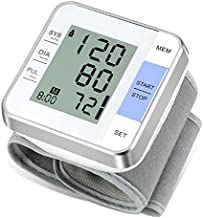 Wrist Blood Pressure Monitor Vlllik Blood Pressure Monitor Wrist Cuff can detect Irregular Heartbeat, Large Display and 2x99 Reading Memory Wrist Blood Pressure Cuff for Home and Hospital Use