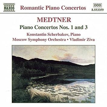 Medtner: Piano Concertos Nos. 1 and 3