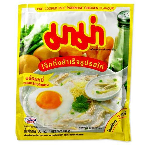 Thai Instant Jok Rice Porridge (Chicken) by Mama