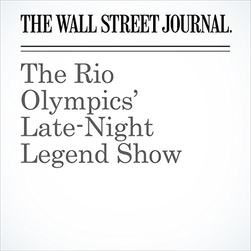 The Rio Olympics' Late-Night Legend Show audiobook cover art