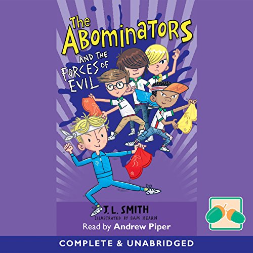 Couverture de The Abominators and the Forces of Evil