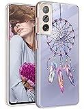 Funda para Samsung Galaxy S21 Plus, funda de silicona, transparente y dulce, diseño de mandala para niña, suave, TPU, flexible, resistente a los arañazos, funda para Samsung S21 Plus 5G