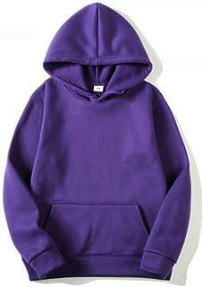 Nobrand 2020 Men Autumn Winter Male Hip Hop Streetwear Men Pullover Sweatshirts Hoodies Mens Solid Color Hoodie Casual Sport Kangaroo Pocket Sweatshirt