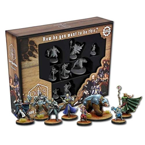 Steamforged Games Critical Role Miniatures 8-Pack Vox Machina *English Version*