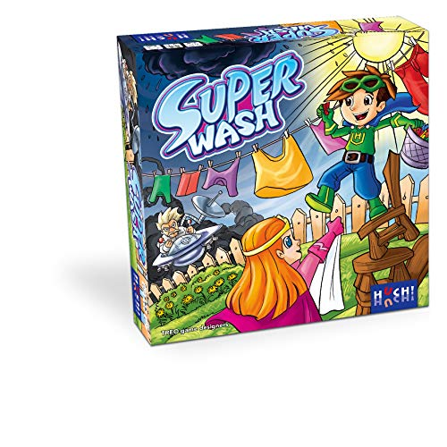 HUCH! 880567 - Super Wash