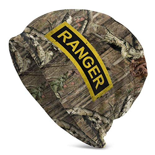 shenguang US Army - Ranger Tab Patch Decal Beanie Hat Skull Cap