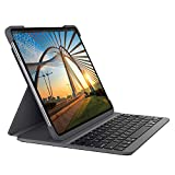 Logitech Slim Folio Pro Etui iPad avec Clavier sans Fil Bluetooth, iPad Pro 12,9...