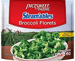 Pictsweet Farms Frozen Steamable Broccoli Florets, 10 oz (frozen)