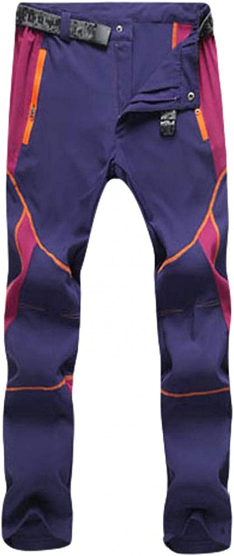 Women Men's Pants Couple Cargo Pants Waterproof Windproof Hiking Pants Outdoor Quik Dry Pants Trousers
