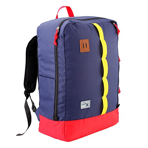Cabin Max Toulouse bagaglio a mano zaino 50x40x20cm (blu/rosso/ giallo)