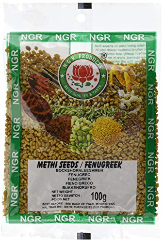 Ngr Bockshornkleesamen (Methi Seeds) (1 x 100 g)