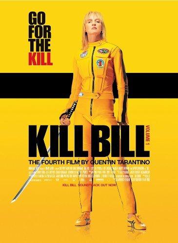 Tarantino Poster, Kill Bill Vol. 1 Uma Thurman Filmplakat, A3, 280 G/Qm, Fotopapier, Seidenmatt