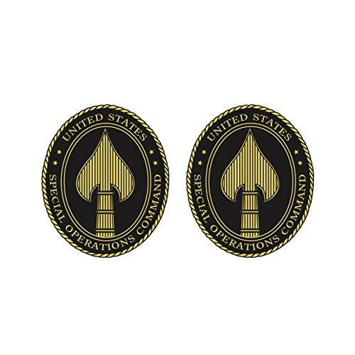 KW Vinyl Magnet Two Pack US Joint Special Operations Command Magnetic USSOCOM SOCOM Car Magnet Bumper Sticker