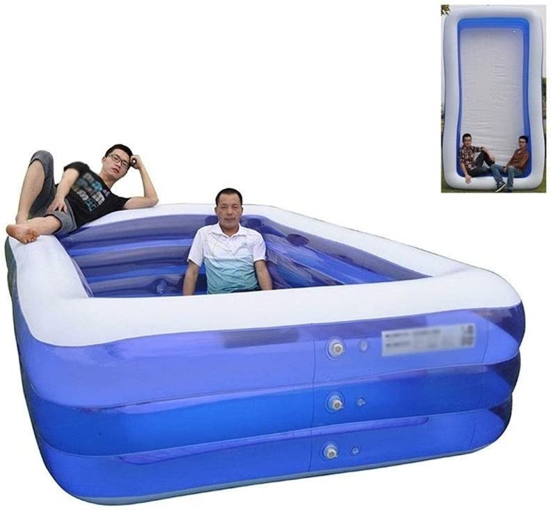 168 Inch Oversize Max 46% OFF Thickened Abrasion Our shop OFFers the best service Pool Inflatable F Resistant