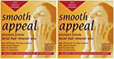 Smooth Appeal Microondas Cera depiladora facial x2