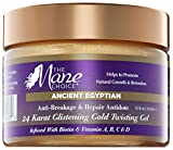 THE MANE CHOICE Ancient Egyptian 24 Karat Gold Twisting Gel - Anti-Breakage & Repair Antidote Gel For Dry and Damaged Hair (12 Ounces / 350 Milliliters)