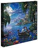 Thomas Kinkade Leinwandfolie 'Little Mermaid II'