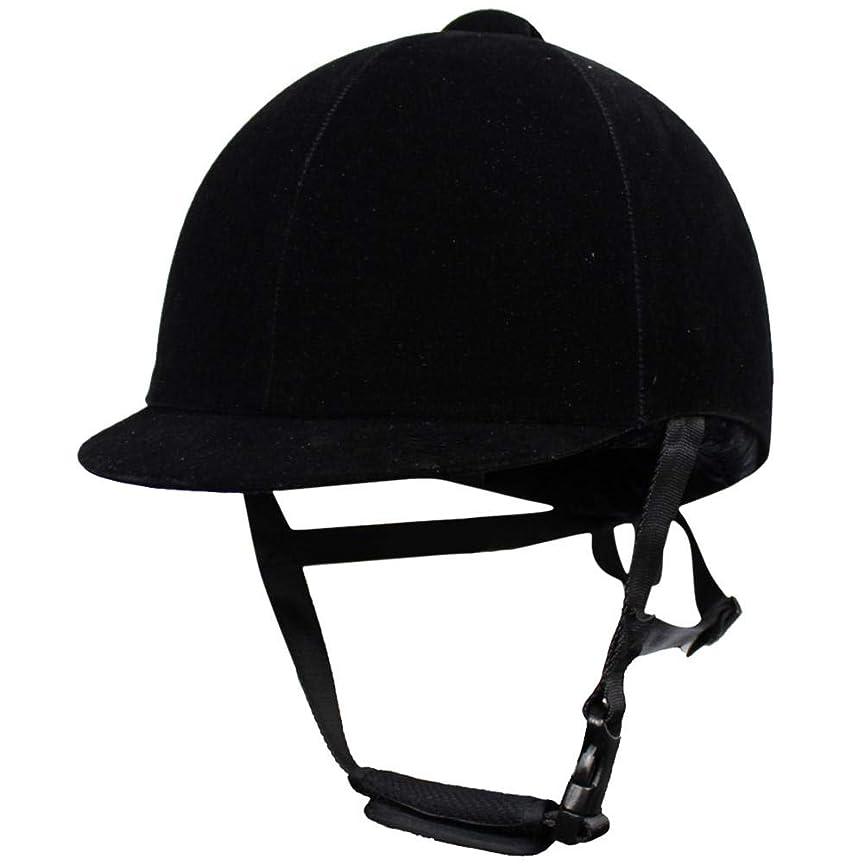 ロボットさわやか宴会乗馬のヘルメット、馬術の帽子のヘルメットのスポーツのスクーリングの乗馬の安全供給、青年および大人のための黒い通気性の乗馬のヘルメットA56cm