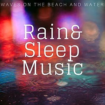 Rain & Sleep Music - Waves on the Beach and Water